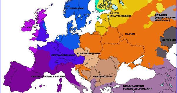Ethno Genetic Map Of Europe [1600 × 1441] U2013 Imgur