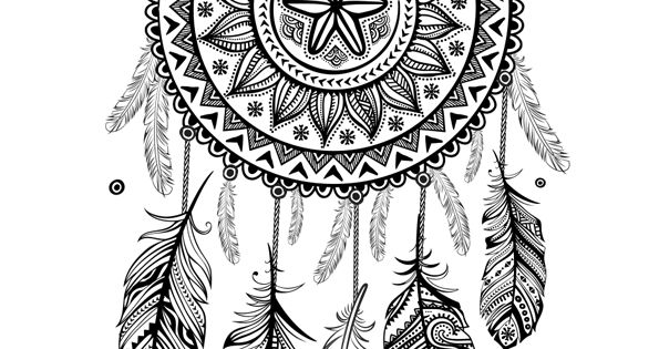 coloriage d un mandala attrape r ve tournesol art therapy pinterest. Black Bedroom Furniture Sets. Home Design Ideas