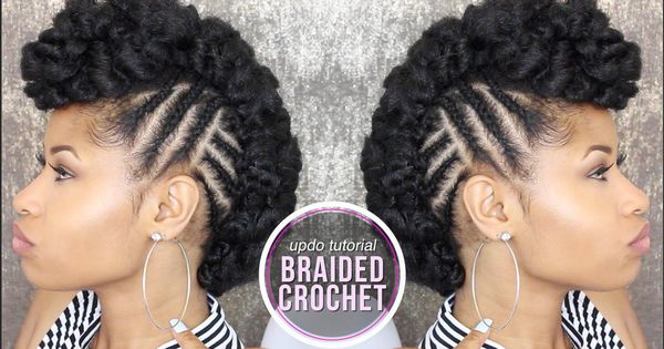Crochet Braids To The Side : How To SIDE BRAIDED CROCHET UPDO [Video Videos, The ojays and ...