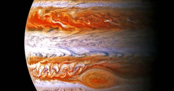 Jupiter is the fifth planet from the Sun and the largest planet