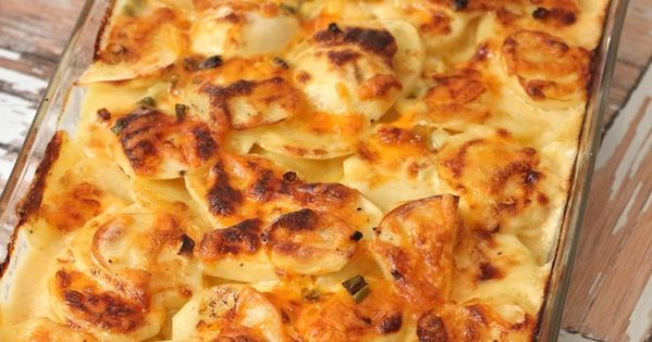 Three Cheese Au Gratin Potatoes | Recipe | Jack o'connell ...