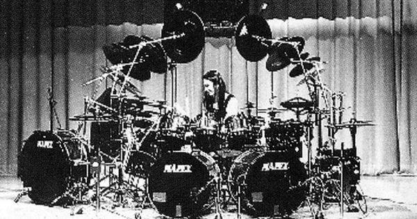 Terry Bozzio Oldder Kit Terry Bozzio Drummer Drum Kits