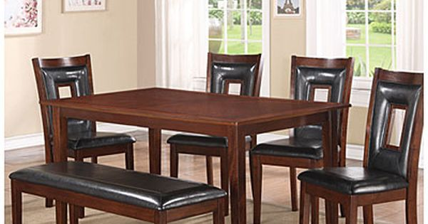 Dining Set 6 Piece At Big Lots We Are A Growing Family Now Time To Upgrade Love This Set Biglots Dining Room Sets Buy Bedroom Furniture Dining Furniture