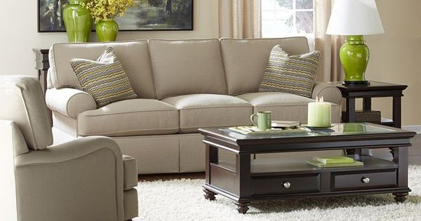 Erin Sofa-Havertys Furniture Living Area s Pinterest Furniture, Accent Pillows and Upholstery