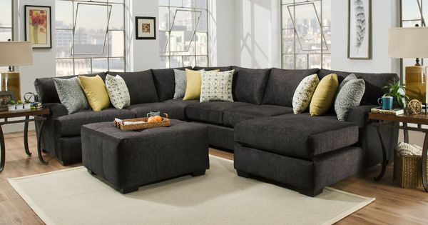 Boulevard Sectional Rsf Corner Sofa Armless Loveseat Lsf Chaise Blvdrsf3pcsec Mattress Furniture Sectional Sofa Living Room Sectional New corinthian inc living room