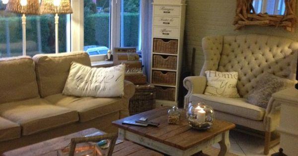 Pin van huisje no 66 op riviera maison woonkamer pinterest interieur landelijk wonen en kijken - Deco blauwe kamer ...