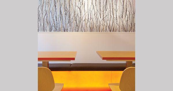 Light Bench Seating W Resin Panels Resinas Pinterest