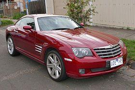 The Chrysler Crossfire Is A Rear Wheel Drive 2 Door Sports Car