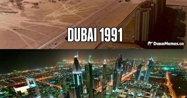 Regardez la transformation extrême de Dubaï : 1991 vs 2012 ...