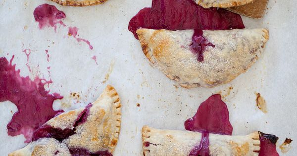 Cherry Cheese Hand Pies | Foodie Crush