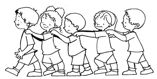 niños en fila - Buscar con Google | Disegni da colorare ...