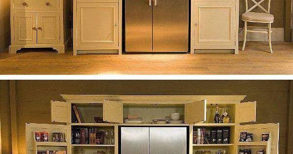 Awesome fridge pantry id es pour la maison pinterest for Organisation interieur maison