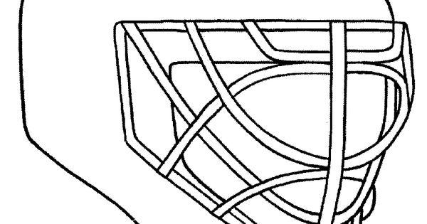 design your own goalie mask chicago blackhawks coloring pages hawks pinterest goalie
