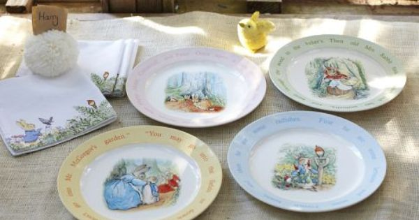 From Pottery Barn Kids Cute Plates Beatrix Potter & Pottery Barn Plastic Plates - Castrophotos