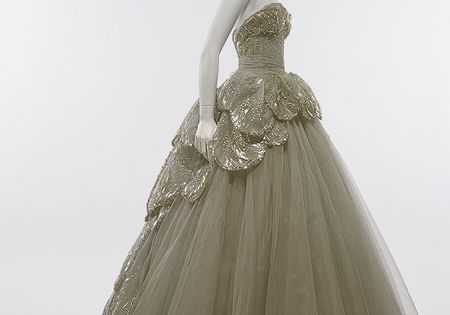 "Christian Dior (French, 1905–1957). ""Venus"" dress, 1949. The Metropolitan Museum of Art,"