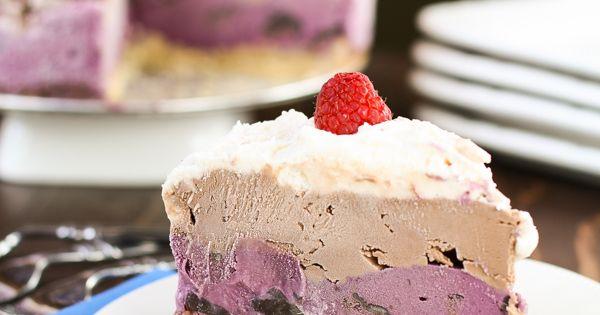 Chocolate chip ice cream, Ice cream cakes and Cream cake on Pinterest