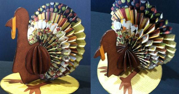 Rosette Turkey another great way to use the Martha Stewart Scoring Board!
