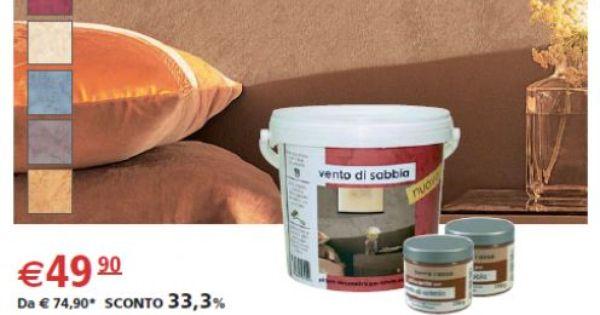 Pittura Vento Di Sabbia Decorativa 3 L 2 Confezioni Di