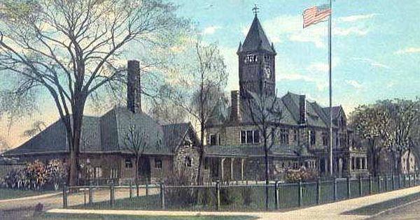 Michigan Central Depot 1915 Bay City Mi Bay City Michigan Bay City Railroad History