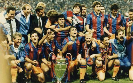 1991 1992 Barcelona Win Their First European Cup Beating Sampdoria 1 0 At Copa De Europa Fútbol De Barcelona Champions