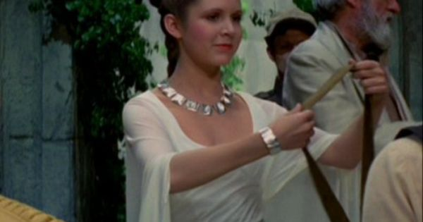 Princess Leia - A New Hope   S t a r W a r s   Pinterest ... How Old Was Princess Leia In A New Hope
