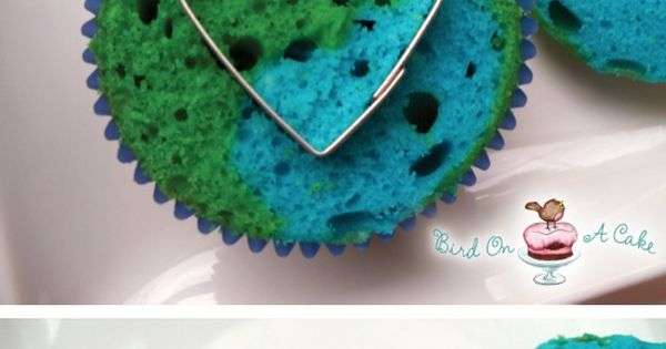 Love these!!! EarthDay via Recipe By Photo Earth Day Cupcakes! (Earth Day