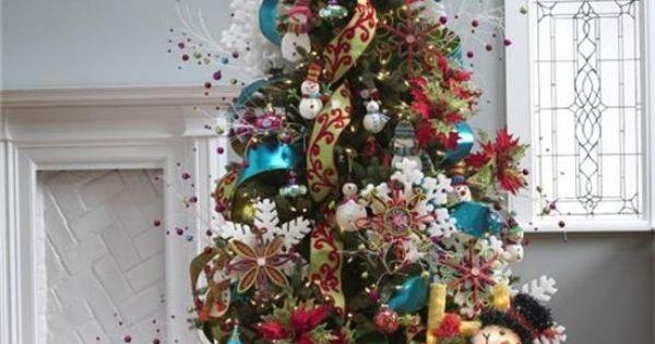 25 propuestas para el rbol de navidad navidad - Decoracion para arboles navidenos ...