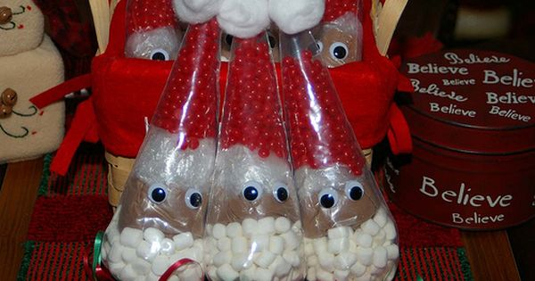 cute hot chocolate gift bags!! Craft fair?