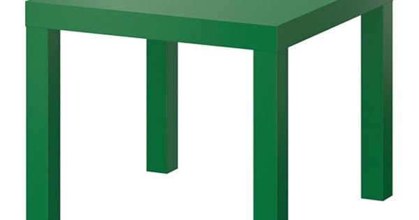 Ikea lack table d 39 appoint vert petit petit for Tables d appoint ikea