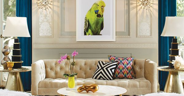 Jonathan Adler Living Room Minimalist Awesome Decorating Design