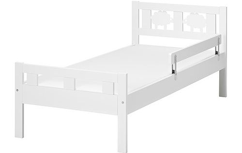 Kritter bed frame with slatted bed base white if we - Letto kritter ikea ...