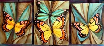 Resultado De Imagen Para Cuadros Abstractos Butterfly Art Butterfly Painting Wall Art Painting