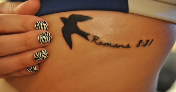 My tattoo and zebra nails romans 8 31 if god is for us for Is god against tattoos