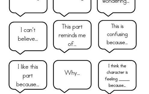 I Do, We Do, You Do: Partner Talk Anchor Chart for Reading