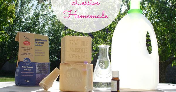 Lessive maison conomique homemade entretien naturel for Autobronzant naturel fait maison