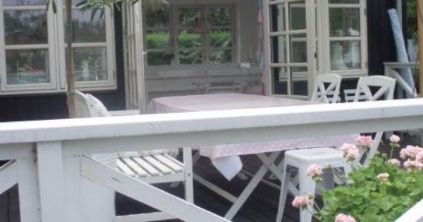 Sommerhusstil tuinieren pinterest cottage style porch and outdoor living - Outdoor tuinieren ...