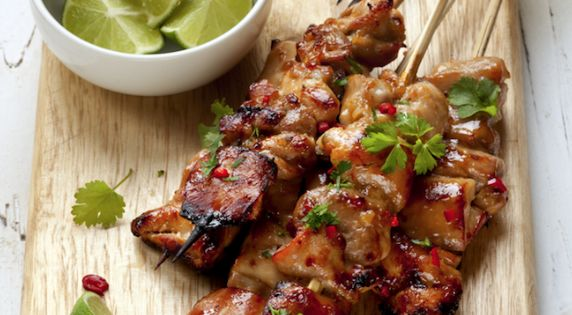 Chili Lime Chicken Skewers. Eat Well Corporate Catering. Sydney, Australia. Find us
