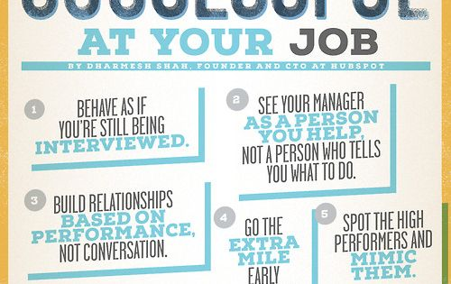 10 Ways to be Sensationally Successful at Your Job. Love this! business