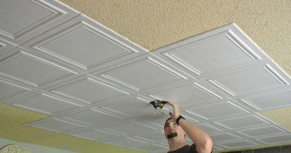 Budget Upgrade Good Bye Popcorn Ceiling Rec Rooms
