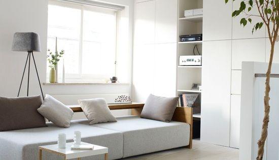 wohnideen wohnzimmer-weiß schlicht modern minimalistisch
