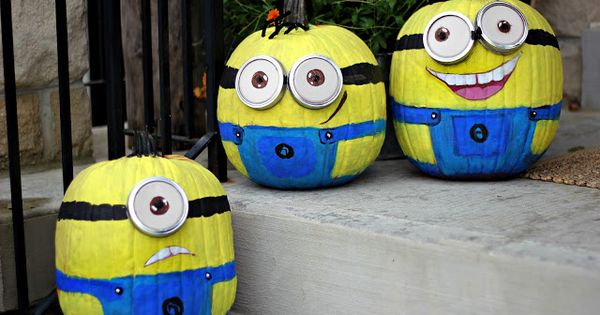 minion pumpkin ideas - Google Search