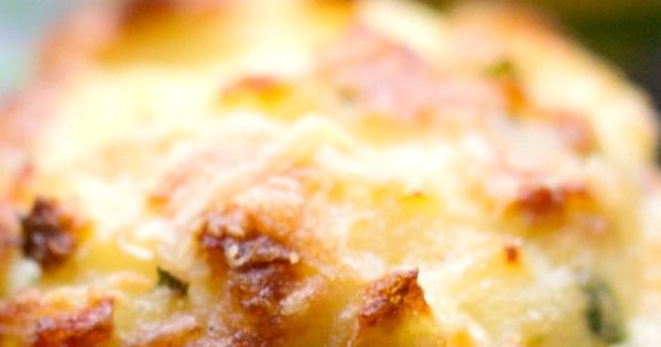 Mashed Potato Puffs ~ Delicious... They are crispy on the outside and
