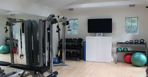 Home Of My Dreams Only With An Own Private Home Gym Room Gym Room At Home Gym Room Home Gym Design