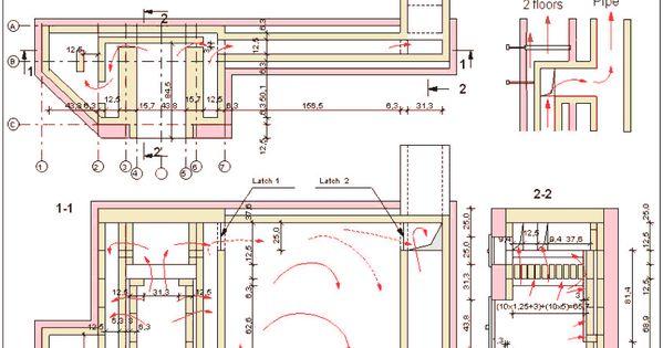 Masonry heater sample Plan  For the Home  Pinterest