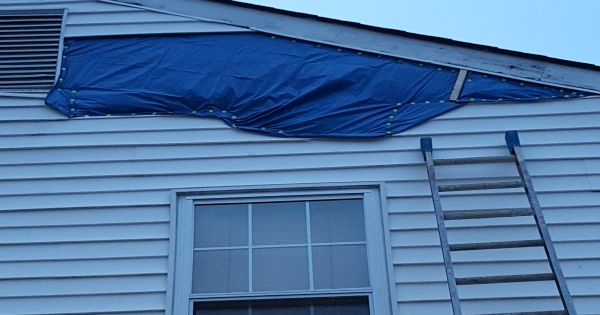 Got Wind Or Storm Damage Call Us For All Your Emergency Repair Needs Roofing Siding Gutters Windows Doors Shutters Lea House Exterior Roofing Exterior