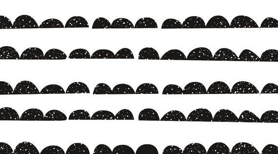 half moon noir papier peint auto adh sif peau et b ton amovible fond d cran temporaire et. Black Bedroom Furniture Sets. Home Design Ideas