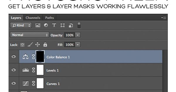 Photoshop Help: Get Your Layers and Layer Masks Working Flawlessly UD331
