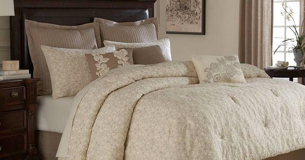 Bridge Street Sonoma Comforter Set In Ivory Comforter