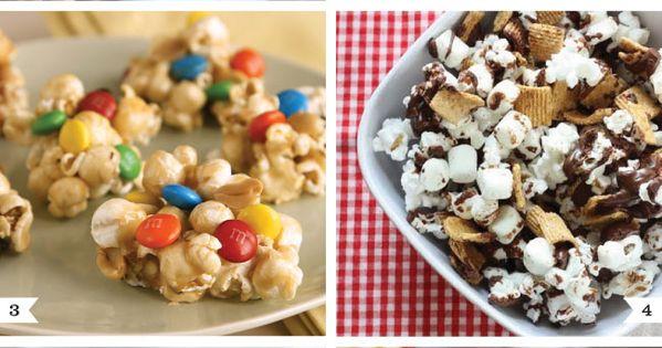 I already made the white chocolate popcorn. So easy and SO good!