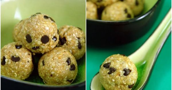 GF oatmeal cookie dough bites